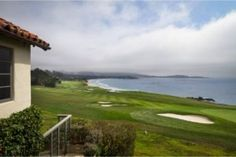 Stunning views of the Ocean and Golf Course in Pebble Beach, California. #estatesofcarmel #pebblebeachrealestate