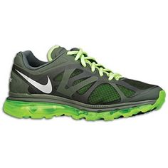 Nike Air Max 2012 - Mens - Sequoia Electric Green Metallic Silver Free  Running f9fb96f789