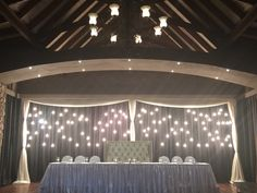 Lobola kraal main table background set up done by Draping Worx