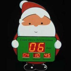 Santa Digital Countdown Board