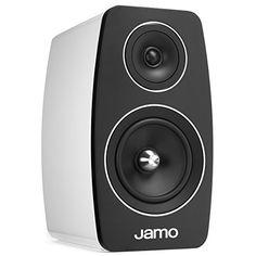 Jamo C103HGWHT Bookshelf Speaker  High Gloss White Pair *** Visit the image link more details.