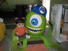 Sulley and Scary girl