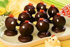 Velikonoční kuřátka Easter Recipes, Pudding, Fruit, Food, Bohemian, Custard Pudding, Essen, Puddings, Meals