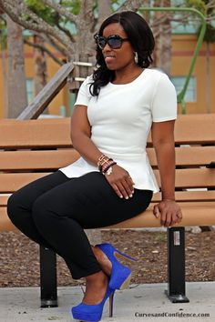 Curves and Confidence | Inspiring Curvy Fashionistas One Outfit At A Time: Royal Rival