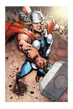 Stan Lee - Marvel Comics Wolverine Avengers Origins: Thor #1 & The X-Men #2, Giclee