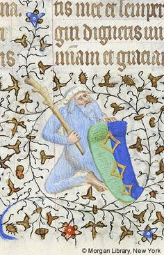 Book of Hours, MS M.1004 fol. 90r - Images from Medieval and Renaissance Manuscripts - The Morgan Library & Museum