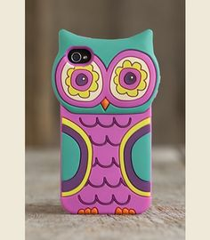 TURQUOISE OWL IPHONE COVER! - Junk GYpSy co.