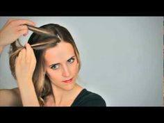 Waterfall Braid Updo Tutorial- this video makes it look so easy! #hair