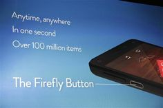 Amazon Fire Phone shops for Prime customers with 4.7-inch screen, rubber body, Firefly shopping app