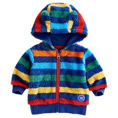 Buy Baby Joule Wild Fleece, Multistripe Online at johnlewis.com