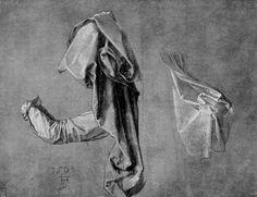 Альбрехт Дюрер, подборка рисунков с драпировками