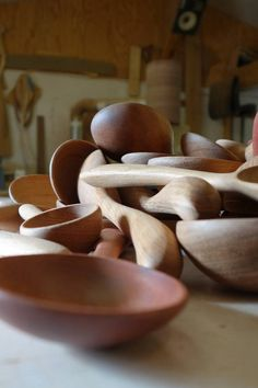 Wooden Spoons in the Workshop // Early Wood Designs