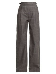 There's a sophisticated sense of ease to Attico's graphite-grey cotton Caterina trousers, enhanced by the relaxed nature of the wide-leg silhouette. Pretty Outfits, Cool Outfits, Casual Outfits, Kpop Fashion, Fashion Outfits, Mode Grunge, Mode Kpop, Look Vintage, Mode Streetwear