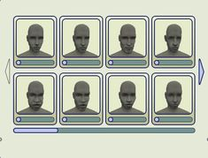 Mod The Sims - Base Templates for Making Your Own CAS/BodyShop Faces
