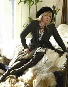 Everything about Stevie Nicks is beautiful ....my number favorite of all time I LOVE ALL her music :)