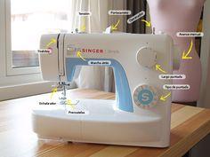 Primeros pasos con la máquina de coser