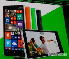 Microsoft demoed the new Nokia Lumia 930 at the company's Build conference.