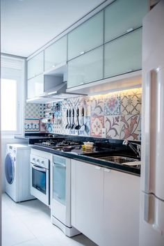 Ladrilho hidráulico: trazendo personalidade à decoração da cozinha