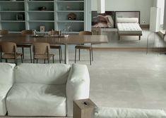 Loving this minimalist home of Doriana & Massimiliano Fuksas - Paris
