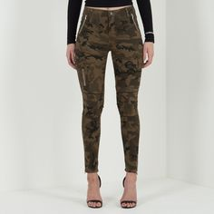 Skinny Cargo Trouser, Skinny Trouser, Cargo Trouser, Cargo Pants, Utility Pocket Trouser, Cargo Jeans, Cargo Skinny Jeans, Camouflage Jeans, Camo Jeans