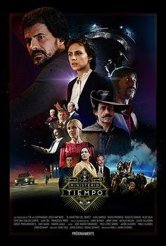 Poster de El Ministerio del Tiempo por @uncioentovolando