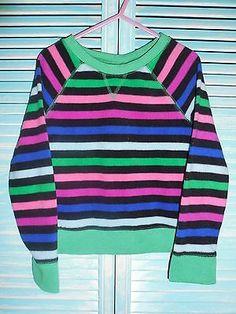 Faded Glory Girls Comfy Long Sleeved Fleece Shirt Size 4/5