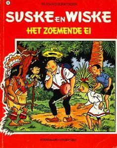 Suske en Wiske #73 Het zoemende ei