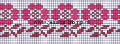 breien randpatronen border knitpatterns 8a