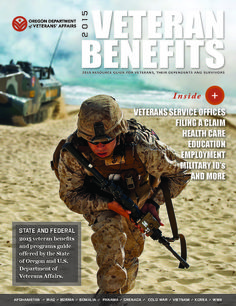 Veteran benefits : resource guide for veterans, their dependents and survivors, by the Oregon Department of Veterans' Affairs
