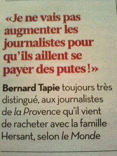 Quelle délicatesse - Patron de presse!!! Vive la Culture