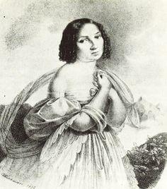 Déryné Széppataki Róza (1793-1872) Sokáig a színjátszás volt az egyetlen olyan társadalmilag elfogadott munka, mely a nőknek független életet biztosított. Déryné vándorszínészként kezdte pályafutását a naiva szerepkörben, később a Pesti Magyar Színház szerződtette.