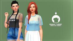 Ikari Sims: Urban t-shirt • Sims 4 Downloads