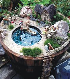 Fairy Garden Number Three – Welcome to the Lake – My Enchanting Whims