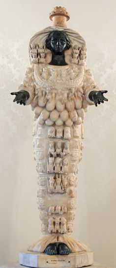 Who I am right now. Artemis of Ephesus, an independent woman but also a nurturer. Interesting!