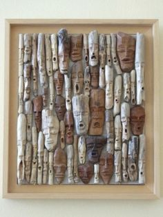 driftwood faces