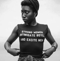 "ithankgoddaily: "" ""Feminism isn't about making women stronger. Women are already strong. It's about changing the way the world perceives that strength"". www.pinkdynasty.org Happy International Women's Day… """