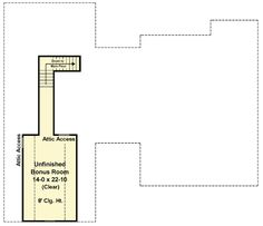 Plan 51144MM: 3 Bed Bungalow With Bonus And Basement