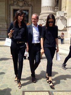 Parisian chic, I like the shoes
