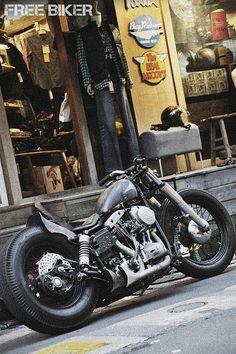 Hd Motorcycles, Bobber Bikes, Harley Davidson Custom Bike, Harley Davidson Sportster, Harley Bobber, Bobber Chopper, Shadow Bobber, Special Forces Gear, Brat Bike