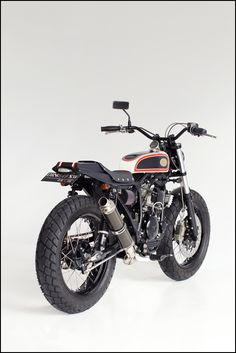 Yamaha SX225 Street Tracker, custom bike Deus Bali