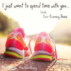Photo by @Saucony #running I love my @Saucony running shoes! We can spend time together (almost) any time!