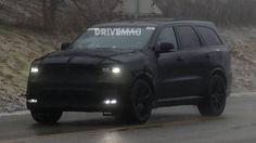 2018 Dodge Durango SRT High-Performance SUV Spied