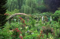 """floralls: """"  Monet's house&garden, Giverny, France by Rick Ligthelm """""""