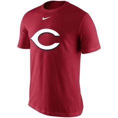 Men's Nike Red Cincinnati Reds Batting Practice Logo Legend Performance T-Shirt
