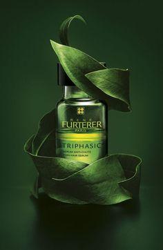 60-ans-rene-furterer-triphasic Creative Advertising, Advertising Design, Skincare Packaging, Cosmetic Packaging, Cosmetic Design, Cosmetics & Perfume, Beauty Shots, Natural Cosmetics, Fine Art Photography