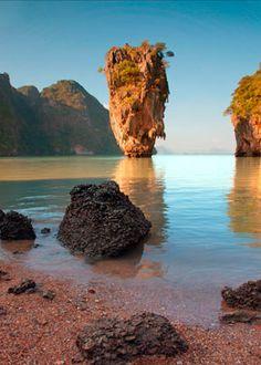 James Bond Island Thialand James Bond Island Thailand, Ao Phang Nga National Park, Travel Photography, Wedding Photography, James Bond Movies, Phuket, Tower, Places, Outdoor