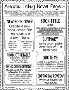 Book Review Template A Book Commercial  Reading In The Classroom