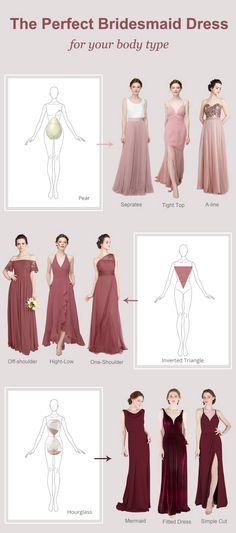 How to Find the Perfect Bridesmaid Dress for Your Body Type Wedding Bridesmaid Dresses, Tulle Wedding, Wedding Dress Styles, Junior Bridesmaids, Pear Shaped Dresses, Pear Shaped Women, Blue Fashion, Cut And Style, Maid Of Honor