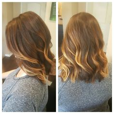 Cut and color by Sarah #balayage #aveda #avedacolor #avedablonde #modernsalon