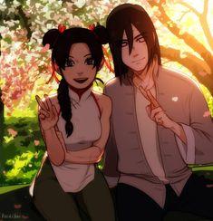 Wish it happened . Neji And Tenten, Naruto Y Boruto, Sarada Uchiha, Anime Naruto, Couple Naruto, Naruto Couples, Naruto Girls, Pokemon Jojo, Naruto Teams